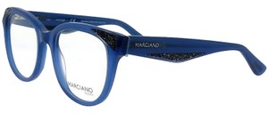 Guess By Marciano GM0319-090-50 Cat Eye Women's Blue Frame Clear Lens Eyeglasses NWT