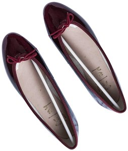 French Sole Red Flats