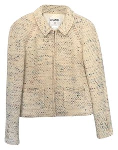 Chanel cream , multicolor Jacket