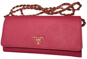 5f3b604ff6ab Pink Prada Cross Body Bags - Up to 90% off at Tradesy