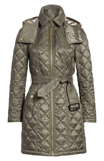 Preload https://img-static.tradesy.com/item/24544716/burberry-green-baughton-quilted-long-jacket-with-belt-military-xs-coat-size-2-xs-0-0-650-650.jpg