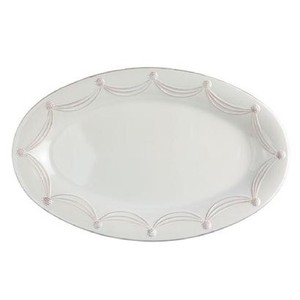 White Berry & Thread Grande Oval Platter Casual China