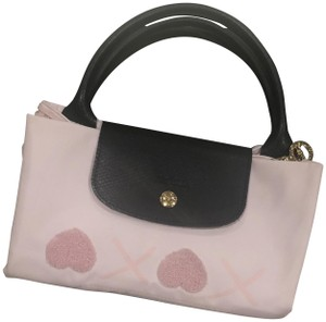 13125e66176a Longchamp Pliage Top Handle New Arrival Tote in Rose