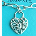 Tiffany & Co. Retired Filigree Heart Link Bracelet Tiffany & Co. Retired Filigree Heart Link Bracelet Image 4
