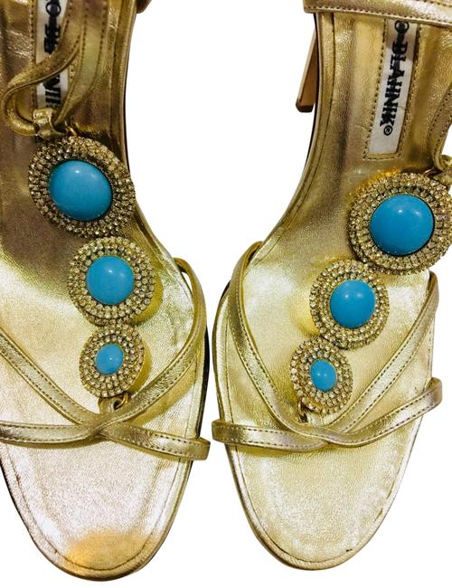 Item - Turquoise Formal Shoes Size EU 37 (Approx. US 7) Regular (M, B)