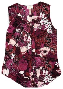 Laundry by Shelli Segal Top Windsor Wine