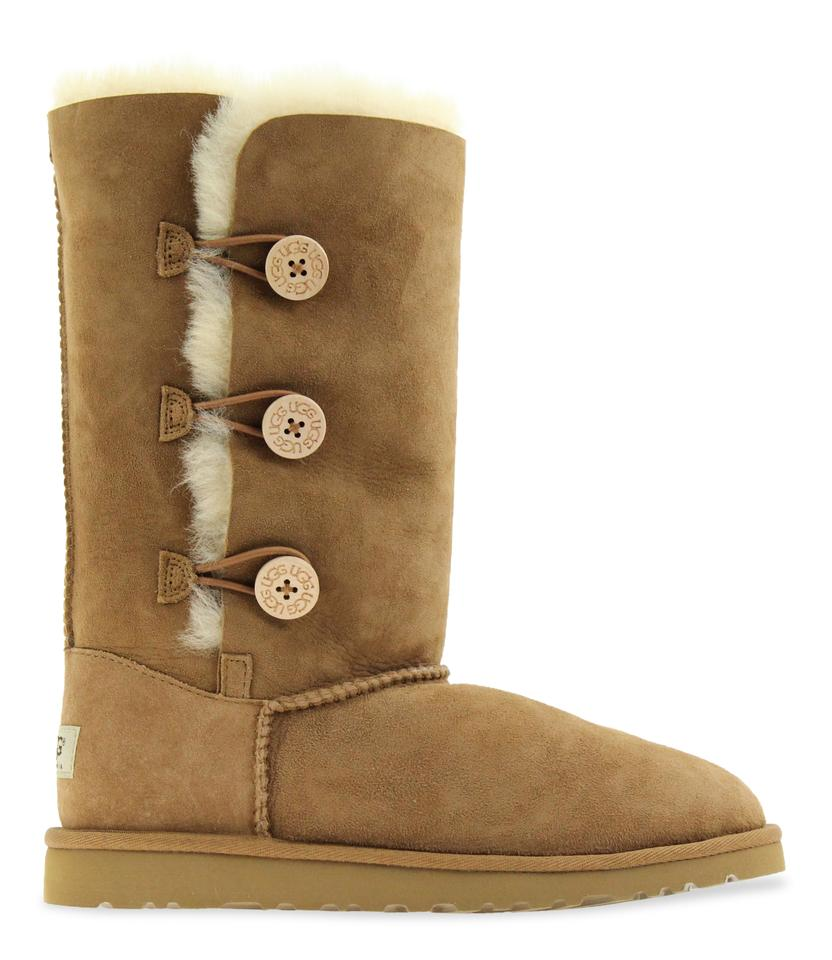 c4445c1fba1 UGG Australia Chestnut Bailey Button Triplet Ii Boots/Booties Size US 6  Regular (M, B) 35% off retail
