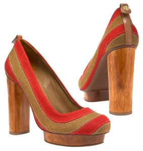 2a55047a782 Red Tory Burch Platforms - Up to 90% off at Tradesy