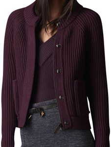 Burberry Deep Purple Aubergine Jacket