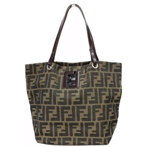 Fendi Vintage Kan I Mon Tresor Speedy Tote in Brown da628be0fd