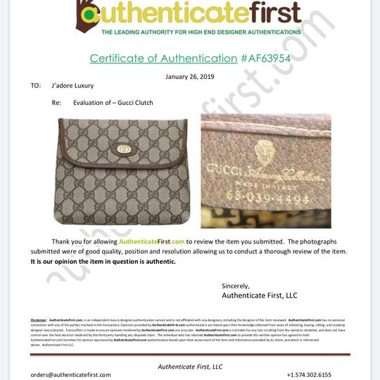 Gucci Brown Clutch Image 11