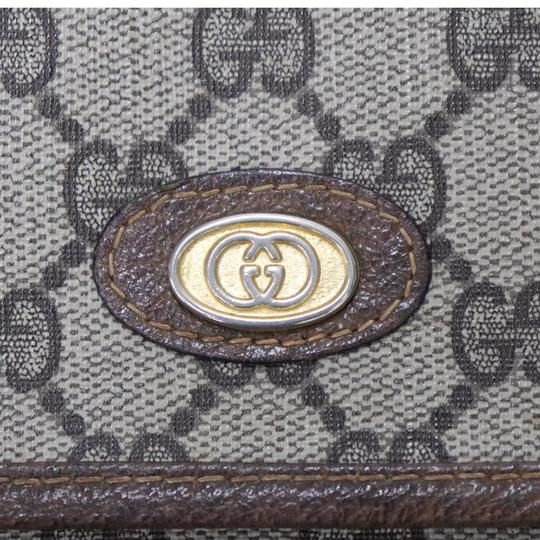 Gucci Brown Clutch Image 6