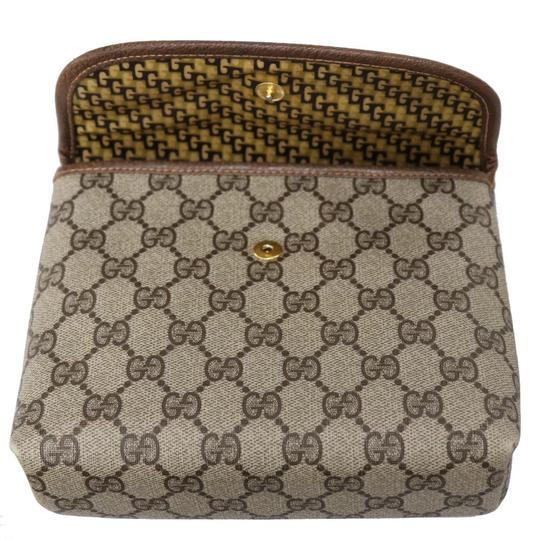 Gucci Brown Clutch Image 7