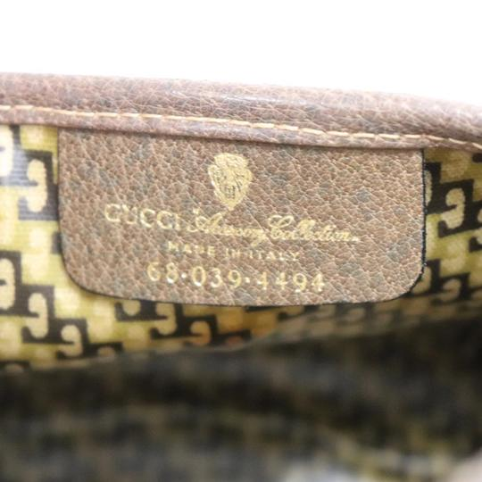 Gucci Brown Clutch Image 9