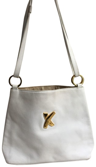 Paloma Picasso Purse White Leather