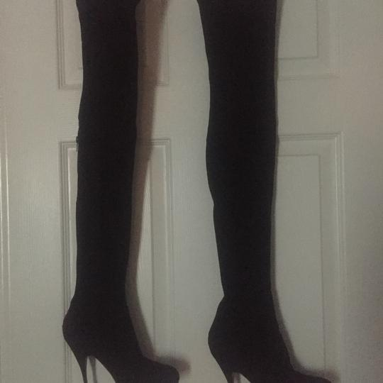 Brian Atwood black Boots Image 7