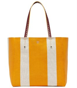 MCM Tote in exotic yellow