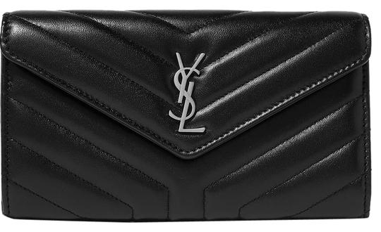 Preload https://img-static.tradesy.com/item/24546525/saint-laurent-black-quilted-textured-leather-wallet-0-1-540-540.jpg