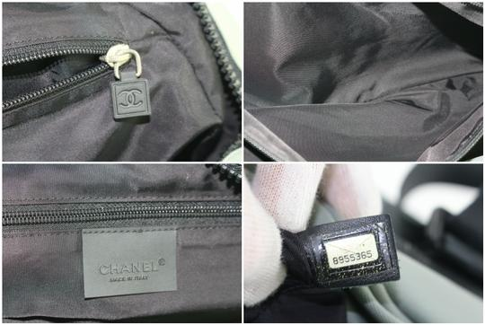 Chanel Boston Speedy Keepall Black Travel Bag