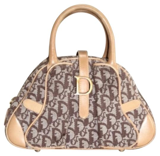 Dior Tote in tan/taupe