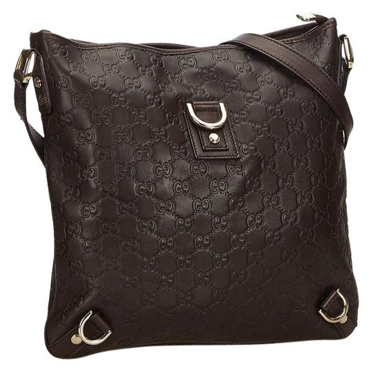 Preload https://img-static.tradesy.com/item/24546572/gucci-abbey-quilted-guccissima-messenger-230205-black-leather-cross-body-bag-0-2-540-540.jpg