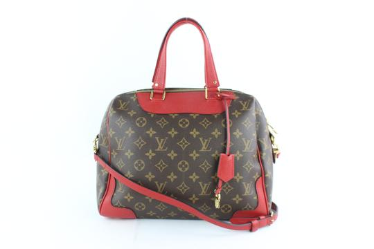 Preload https://img-static.tradesy.com/item/24546601/louis-vuitton-6lz1812-brown-red-coated-canvas-leather-weekendtravel-bag-0-0-540-540.jpg