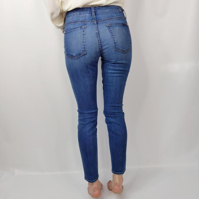 7 For All Mankind Skinny Jeans-Distressed