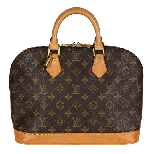 Preload https://img-static.tradesy.com/item/24546672/louis-vuitton-alma-6902-brown-canvas-satchel-0-0-540-540.jpg