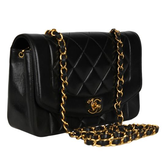 Chanel Limited Edition Leather Lambskin Front Flap Quilted Cross Body Bag