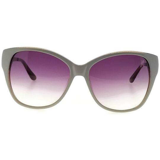 Guess By Marciano GM0632-K30-58 Cat Eye Women's Gold Frame Brown Lens Sunglasses NWT