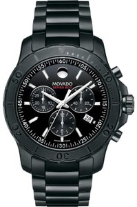 Movado Stainless Steel Bracelet 800 Series Chronograph 2600119 Swiss
