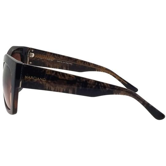 Guess By Marciano GM0715-E26-55 Cat Eye Women's Brown Frame Brown Lens Sunglasses NWT