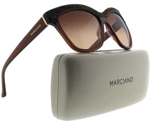 Guess By Marciano GM0729-50F-57 Square Women's Brown Frame Brown Lens Sunglasses NWT