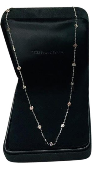 Preload https://img-static.tradesy.com/item/24546746/tiffany-and-co-solid-18k-white-gold-diamond-by-the-yard-154-ct-necklace-0-1-540-540.jpg