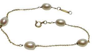 Tiffany & Co. PERETTI - SOLID 18K 18KT GOLD - PEARL BY THE YARD BRACELET