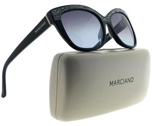 43053d0bbb Guess By Marciano GM0730-01B-55 Cat Eye Women s Black Frame Grey Lens  Sunglasses
