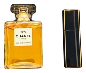 Chanel NO. 5 GIFT SET - 3.4 OZ EAU DE PARFUM + .7 OZ REFILLABLE TWIST SPRAY