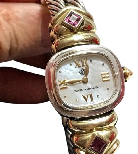 Preload https://img-static.tradesy.com/item/24546787/david-yurman-sterling-silver-and-14k-gold-renaissance-with-amethyst-watch-0-2-540-540.jpg