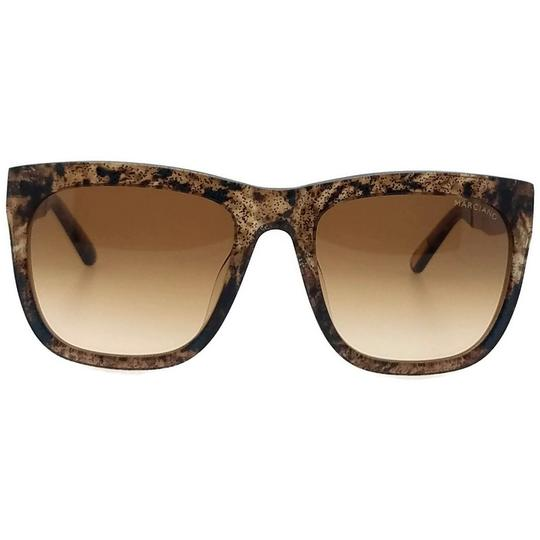 Guess By Marciano GM0732-47F-54 Square Women's Brown Frame Brown Lens Sunglasses NWT