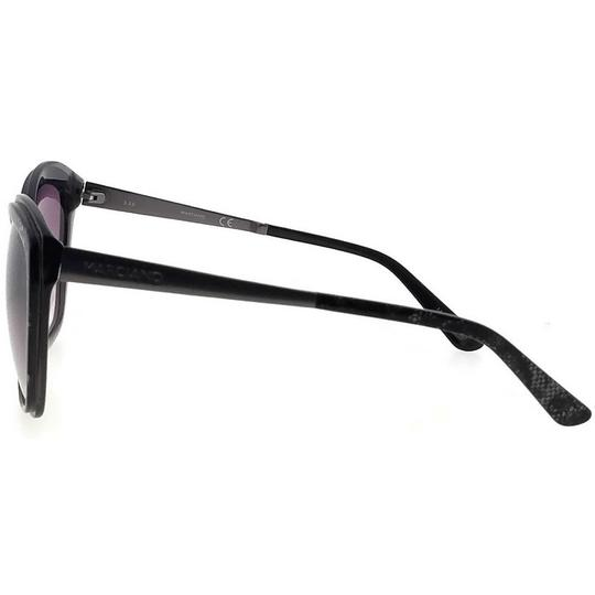 Guess By Marciano GM0738-05C-59 Cat Eye Women's Black Frame Grey Lens Sunglasses NWT