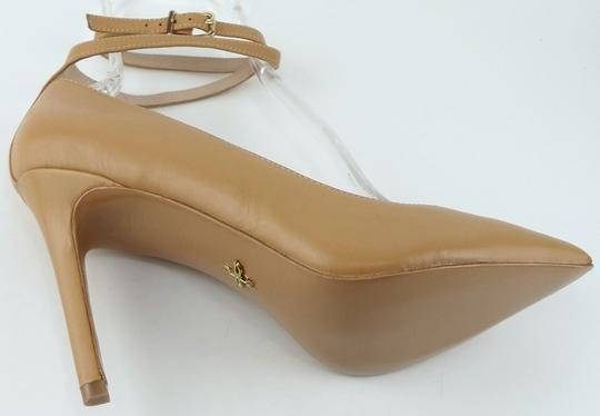 Pour La Victoire Pointed Evening Camel Pumps