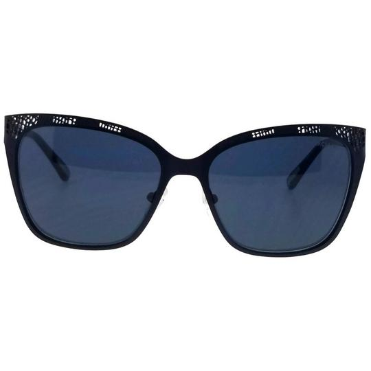 Guess By Marciano GM0742-91V-57 Cat Eye Women's Blue Frame Blue Lens Sunglasses NWT