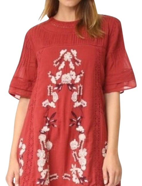 Preload https://img-static.tradesy.com/item/24546847/free-people-red-victorian-embroidered-short-casual-dress-size-8-m-0-1-650-650.jpg