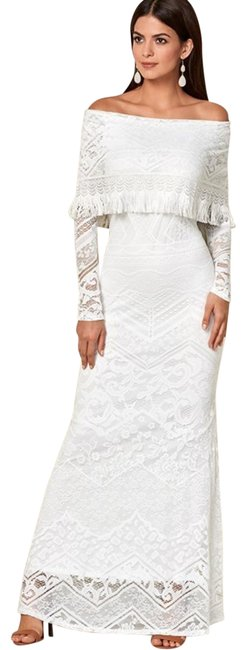 Preload https://img-static.tradesy.com/item/24546862/white-sleeve-lace-maxi-long-formal-dress-size-8-m-0-1-650-650.jpg