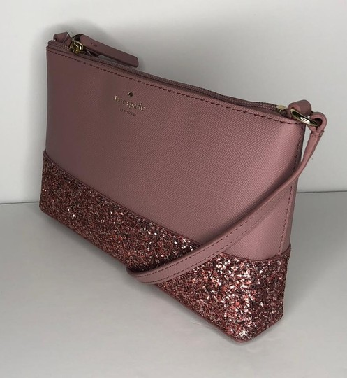 Kate Spade Leather Pink Holiday Collection New York Cross Body Bag