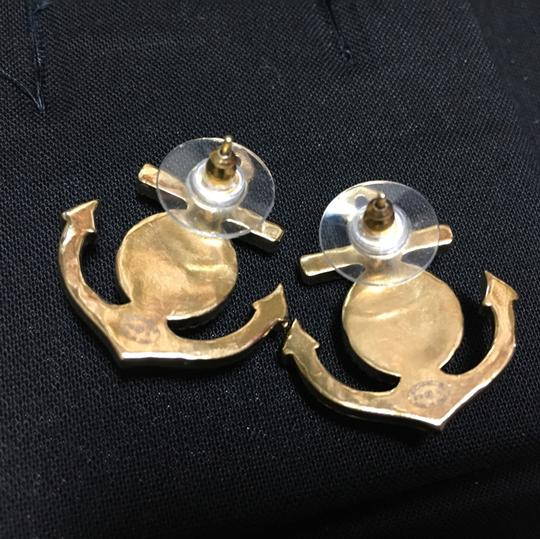 Chanel Brand new 2018 Chanel Gold Anchor Earrings