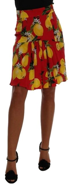 Preload https://img-static.tradesy.com/item/24546875/dolce-and-gabbana-multicolor-d1044-1-women-s-red-lemon-print-pleated-it-40-s-skirt-size-4-s-27-0-1-650-650.jpg