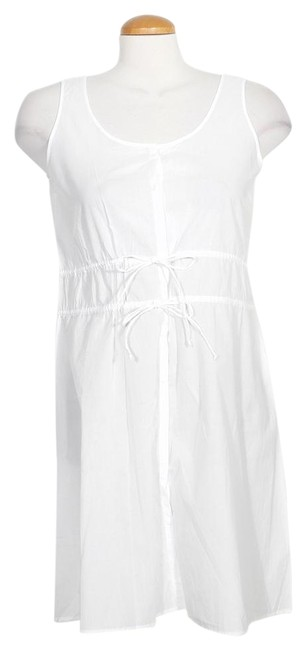 Preload https://img-static.tradesy.com/item/24546877/eileen-fisher-white-organic-cotton-voile-sleeveless-layering-top-xs-short-casual-dress-size-2-xs-0-1-650-650.jpg