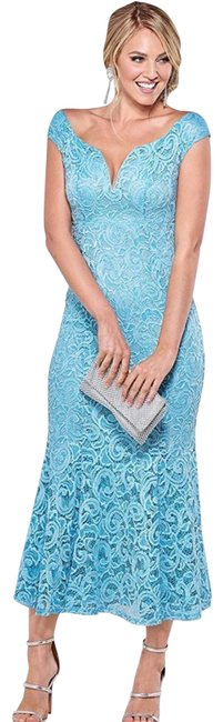 Preload https://img-static.tradesy.com/item/24546885/blue-lace-and-sequin-maxi-long-night-out-dress-size-10-m-0-1-650-650.jpg