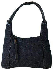 Gucci Gg Web Hobo Shoulder Bag